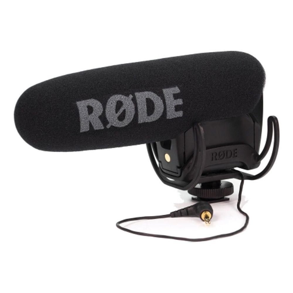 rode-videomic-pro-r-microfon-cu-sistem-de-suspensie-rycote-lyre-44142-447