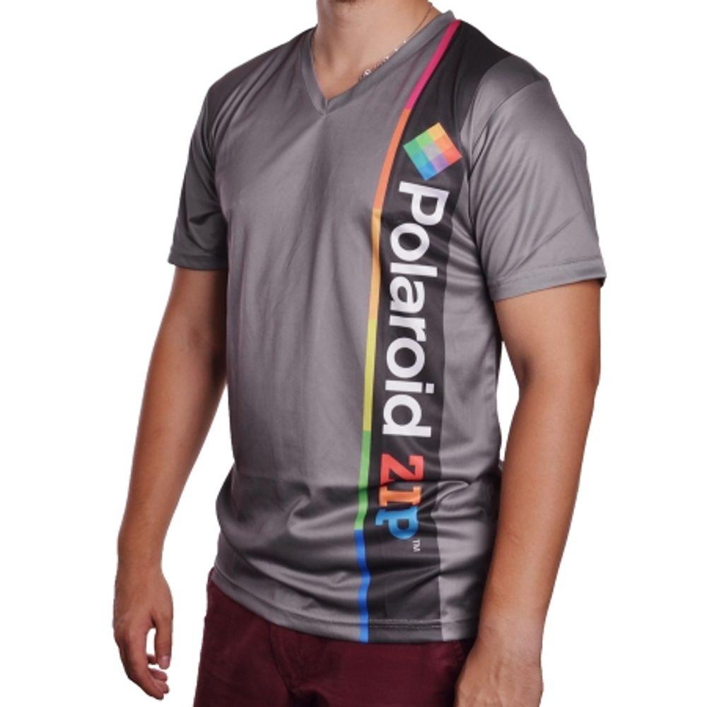polaroid-polshirtzipxl-tricou-zip--xl--gri--63217-284