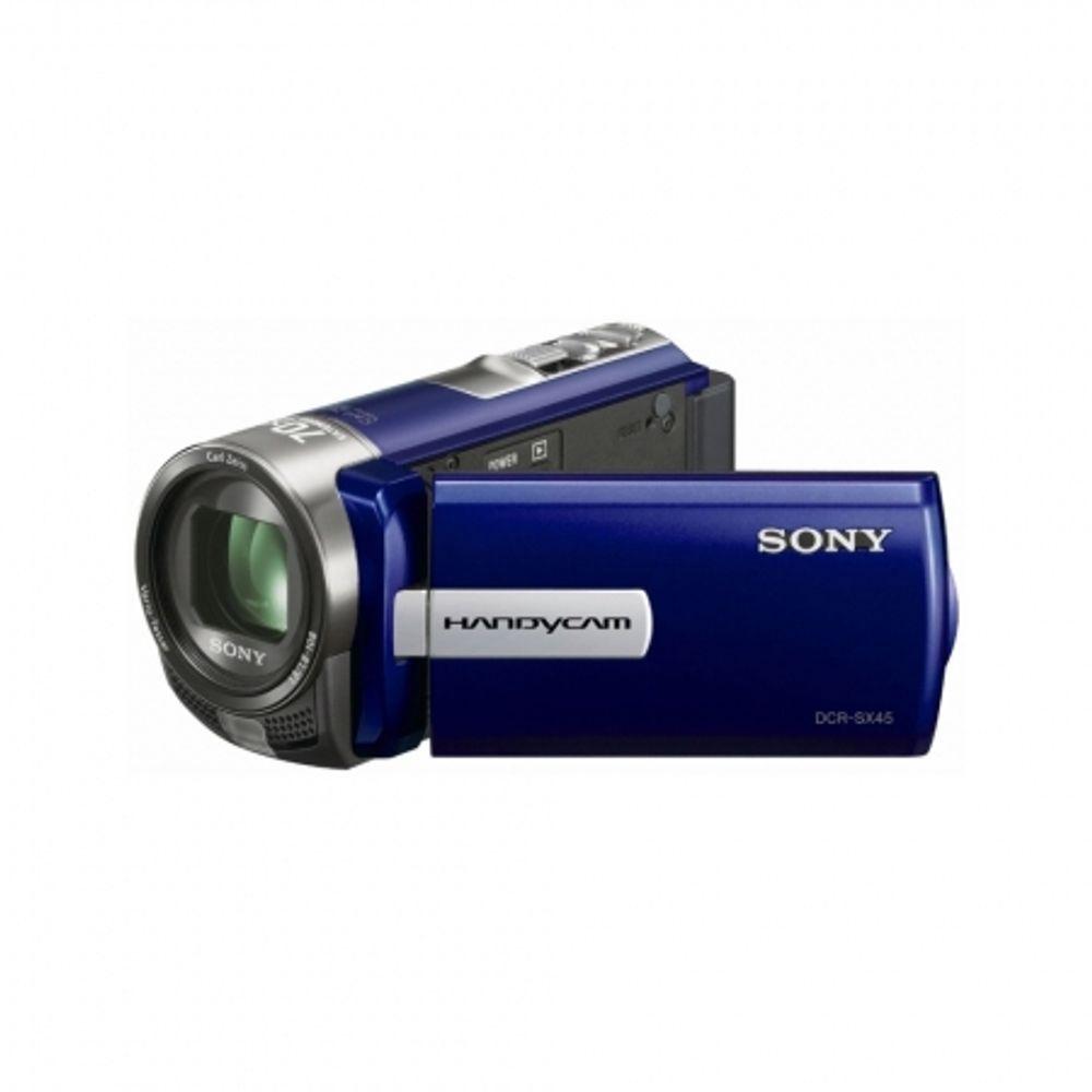 sony-handycam-dcr-sx45el-albastra-zoom-optic-60x-filmare-sd-dimensiuni-reduse-20241