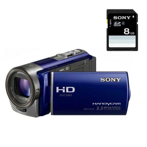 sony-hdr-cx130l-card-sd-8gb-camera-video-full-hd-obiectiv-g-zoom-30x-albastru-20853