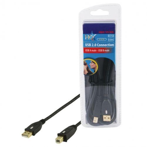 hq-hqcc-141-3hs-cablu-usb-a-b-pentru-imprimanta--3m-29325