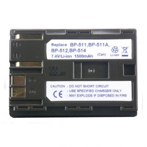 power3000-pl511w-853-acumulator-tip-bp-508-bp-511-bp-511a-bp-512-bp-514-pentru-canon-1500mah-1901