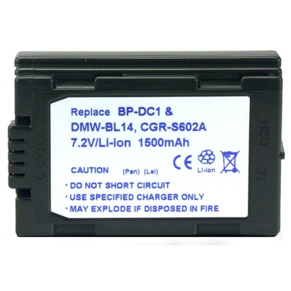 power3000-pl14d-853-acumulator-tip-cgr-s602a-dmw-bl-14-pentru-panasonic-1300mah-2010