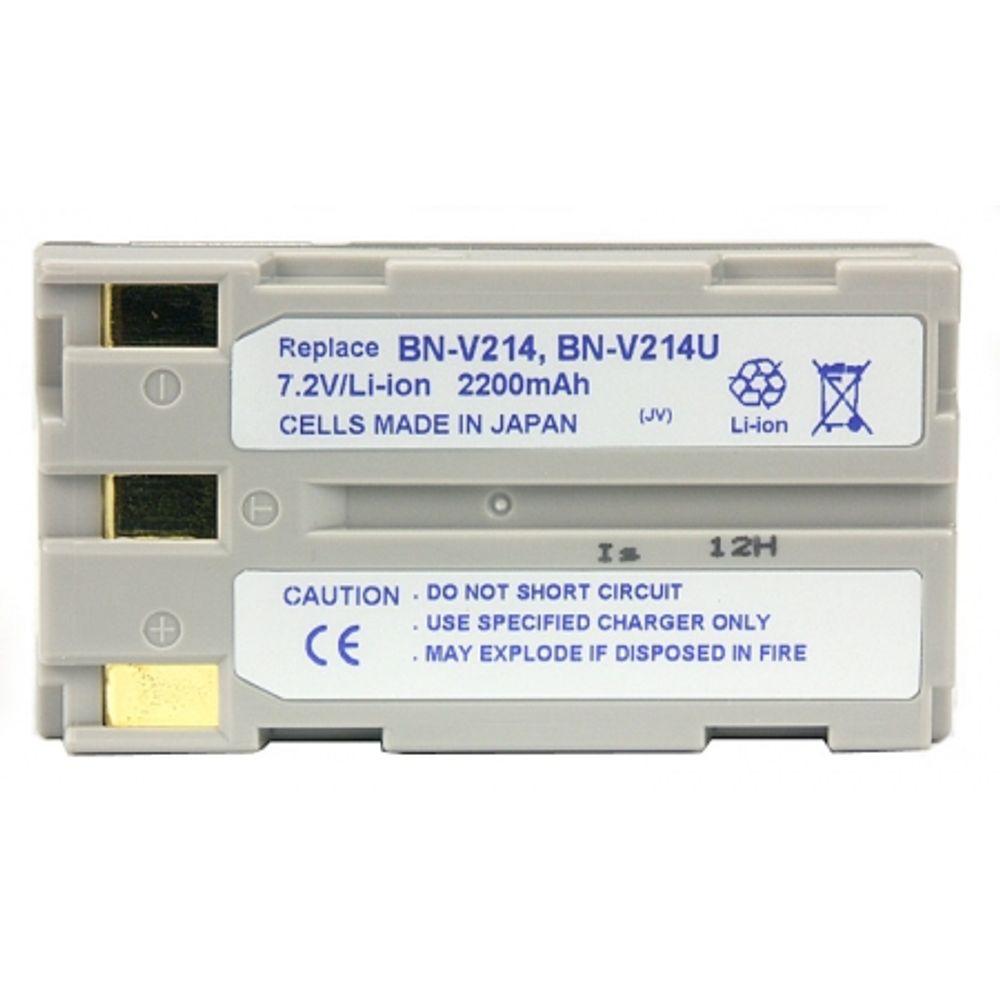 power3000-pl214c-862-acumulator-tip-bn-v214-214u-pentru-jvc-2200mah-2254