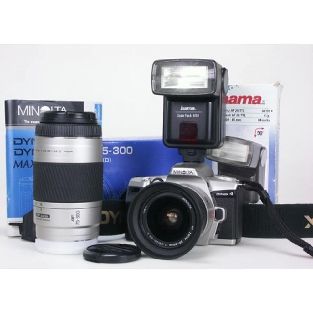 aparat-foto-minolta-dynax-4-pe-film-35mm-af-teleobiectiv-minolta-75-300mm-f-4-5-5-6-ob-minolta-28-80mm-f-3-5-5-6-blitz-hama-zoom-flash-af28-2267