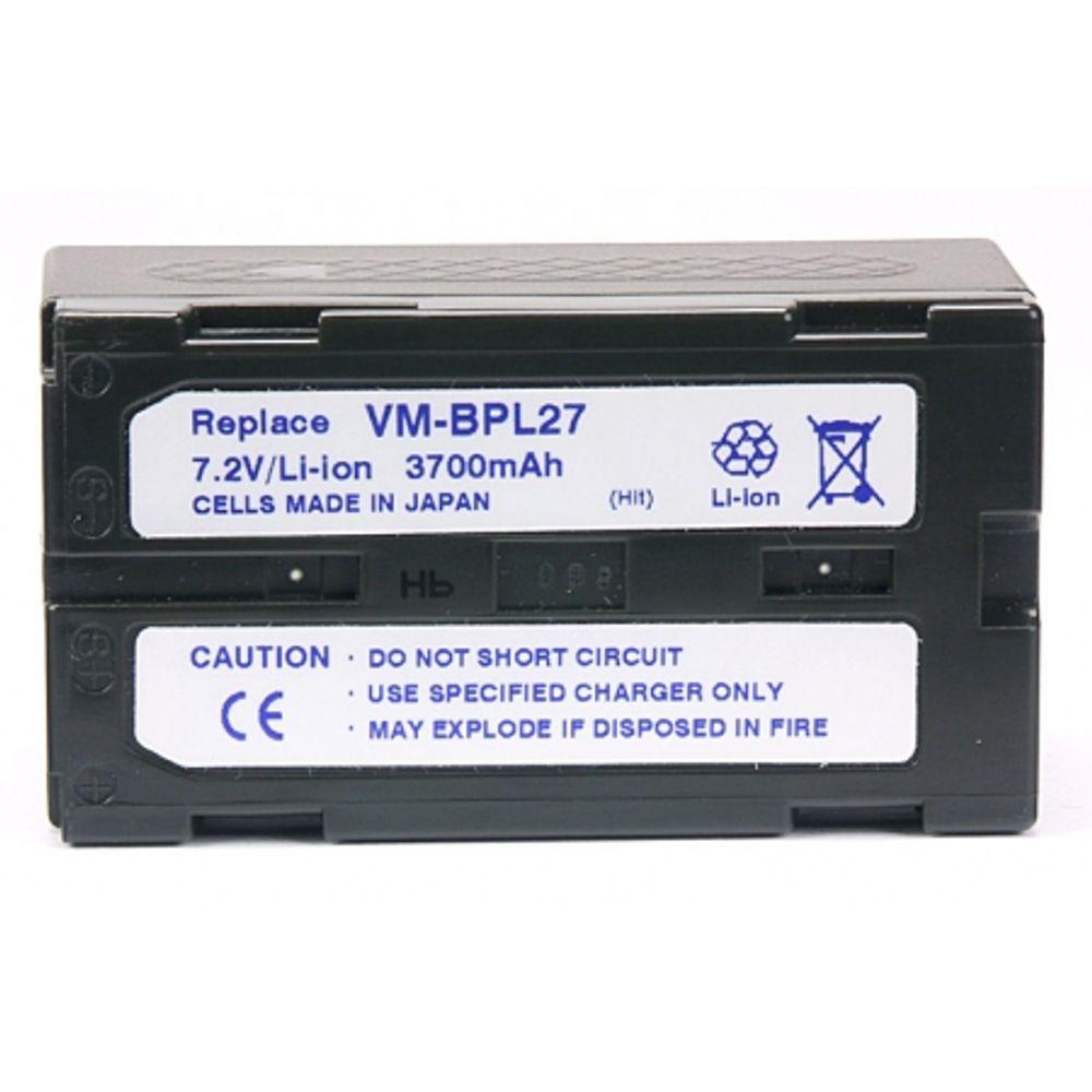 power3000-pl490d-866-acumulator-tip-vm-bpl27-vm-bp27a-pentru-hitachi-3700mah-2300