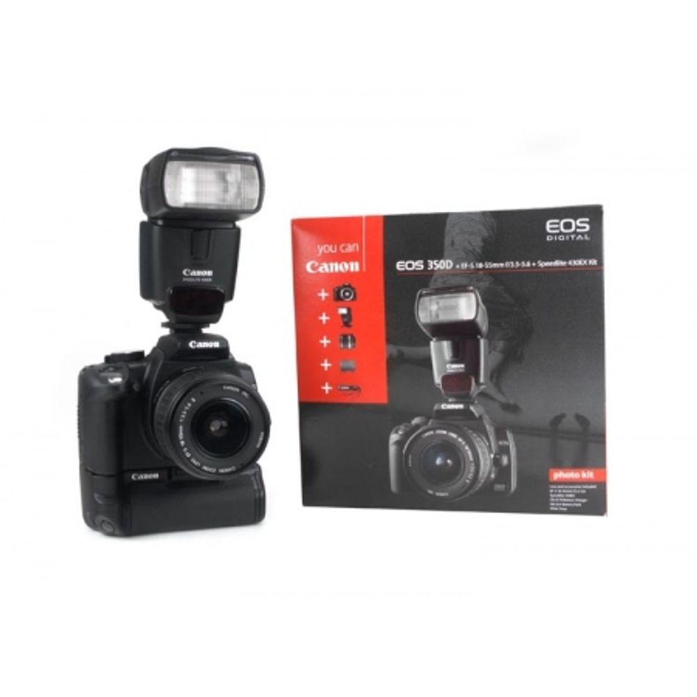 canon-eos-350d-kit-canon-ef-s-18-55mm-battery-grip-bg-e3-canon-speedlite-430ex-oferta-limitata-3465