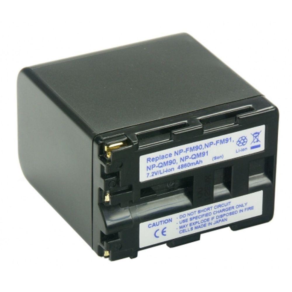 power3000-plm901d-855-acumulator-li-ion-tip-np-fm90-np-fm91-pentru-sony-4860mah-4512