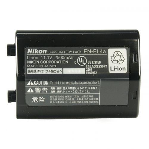 nikon-en-el4a-acumulator-pentru-nikon-d3-d3s-d3x-2500mah-5601