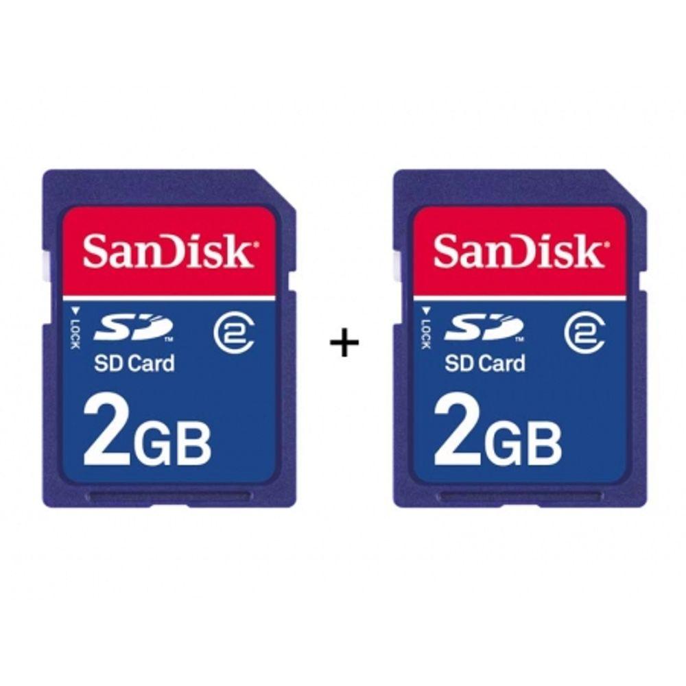 set-2-carduri-sd-2gb-sandisk-standard-5721