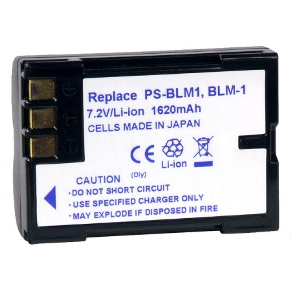 power3000-pl101-855-acumulator-tip-blm-1-ps-blm1-pentru-olympus-1620mah-6548