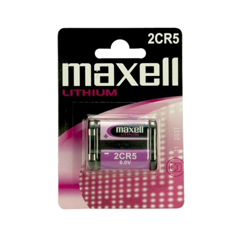 baterie-lithium-6v-2cr5-maxell-7505