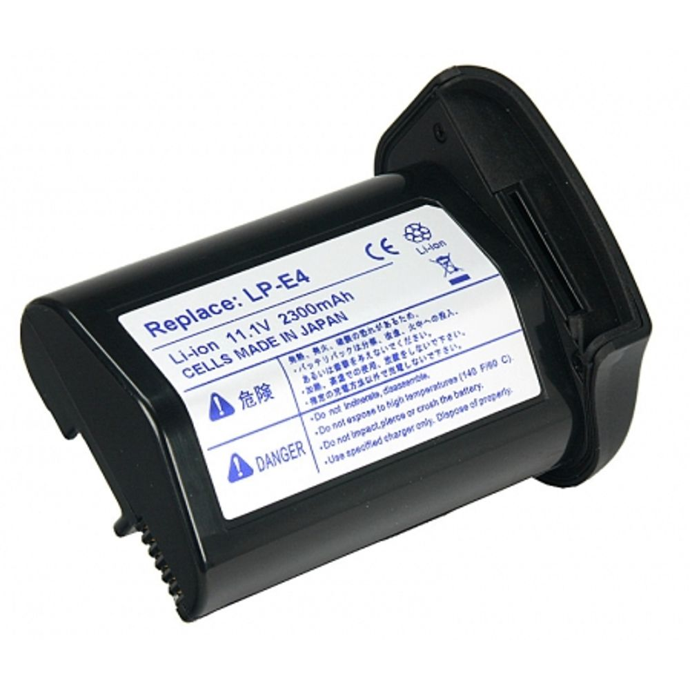 power3000-pl724b-082-acumulator-tip-lp-e4-pentru-canon-1d-mark-iii-1ds-mark-iii-2300mah-7583