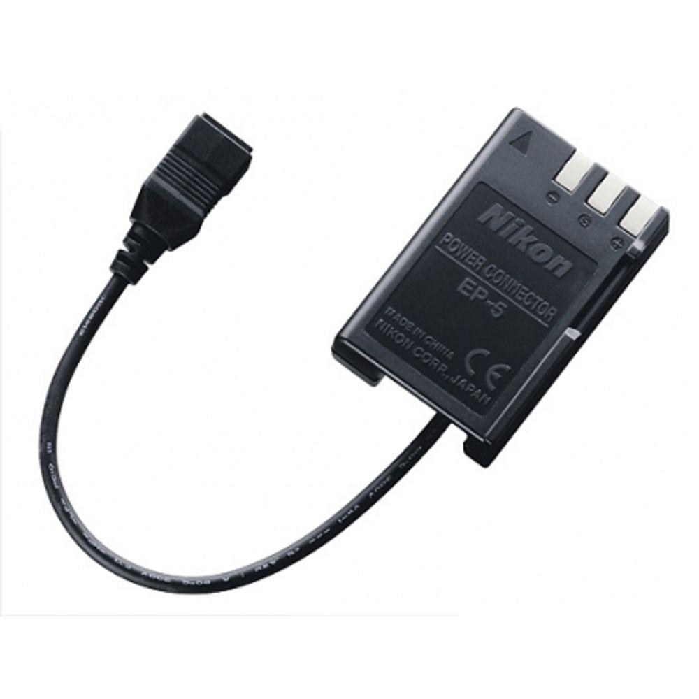 nikon-ep-5-conector-pt-alimentare-directa-d40-d60-8256