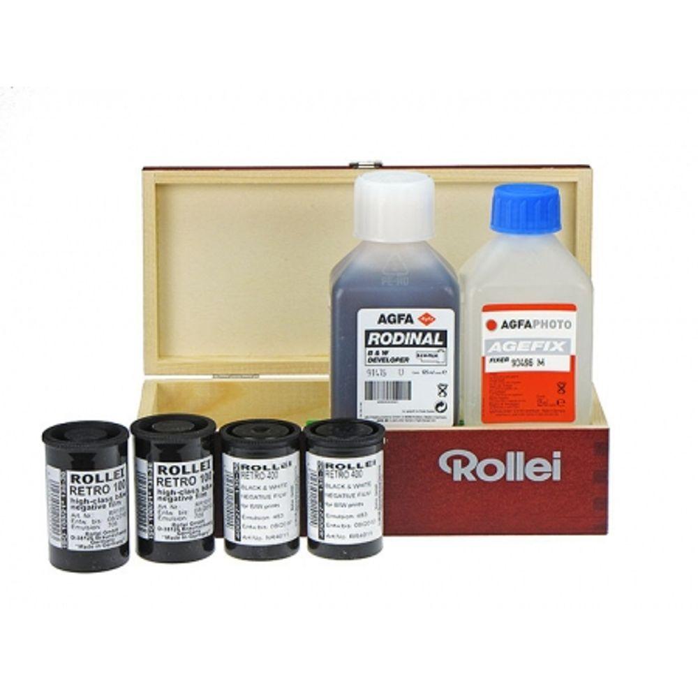 rollei-art-kit-set-4x-film-negativ-alb-negru-ingust-2x-iso-100-2x-iso-400-135-36-revelator-fixator-8960
