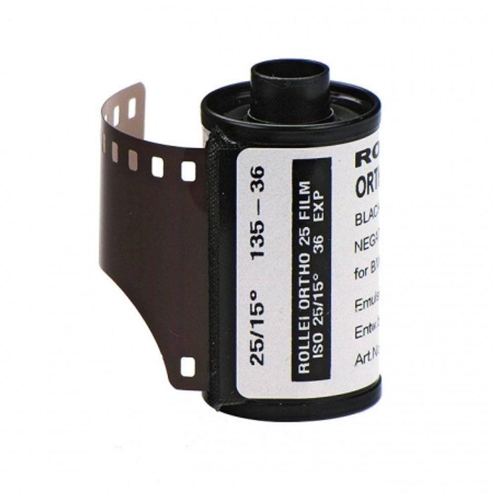 rollei-ortho-25-film-negativ-alb-negru-ingust-expirat-iso-25-135-36-8986