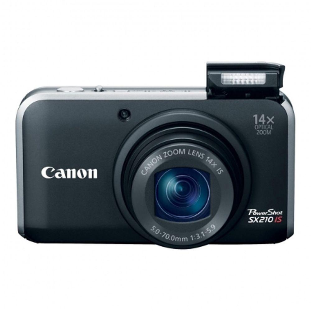 canon-powershot-sx210-is-negru-14-mpx-14x-zoom-optic-lcd-3-0-12829