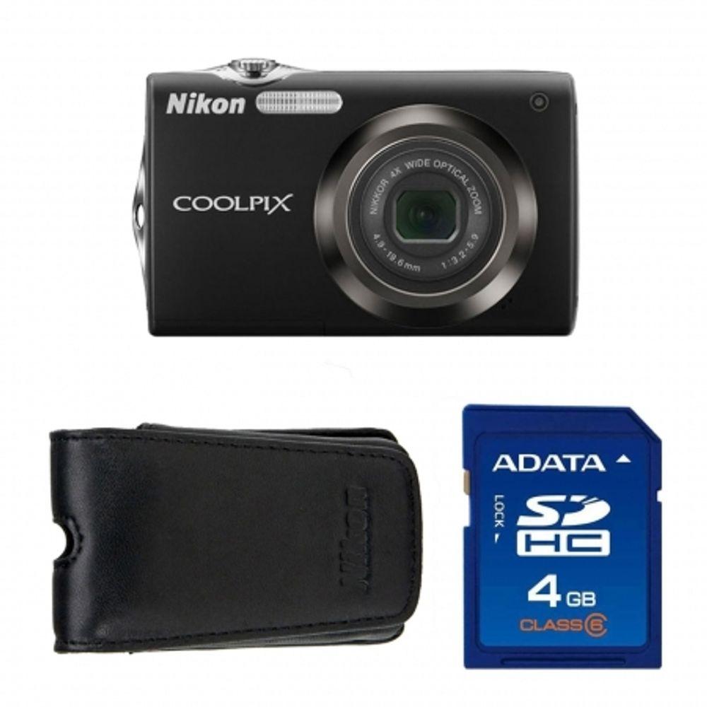 nikon-coolpix-s3000-negru-husa-nikon-card-sd-nikon-4gb-13117