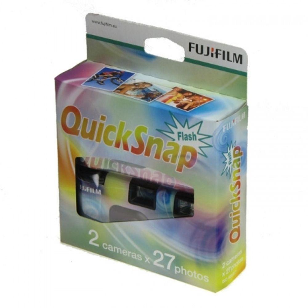 fuji-quick-snap-400-27-aparate-foto-de-unica-folosinta-2-buc-13340