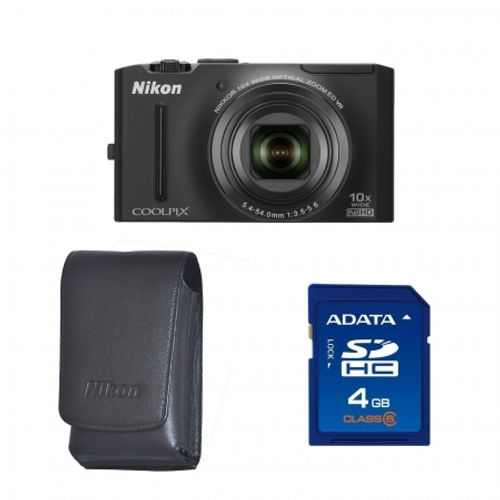 nikon-coolpix-s8100-black-husa-nikon-pt-s8100-card-sd-sandisk-4gb-std-19052