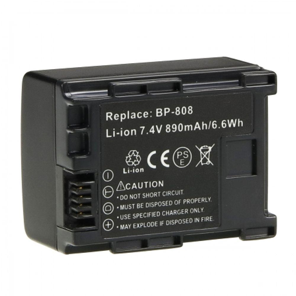 power3000-plw238d-725-acumulator-tip-bp808-pentru-canon--890mah-13717