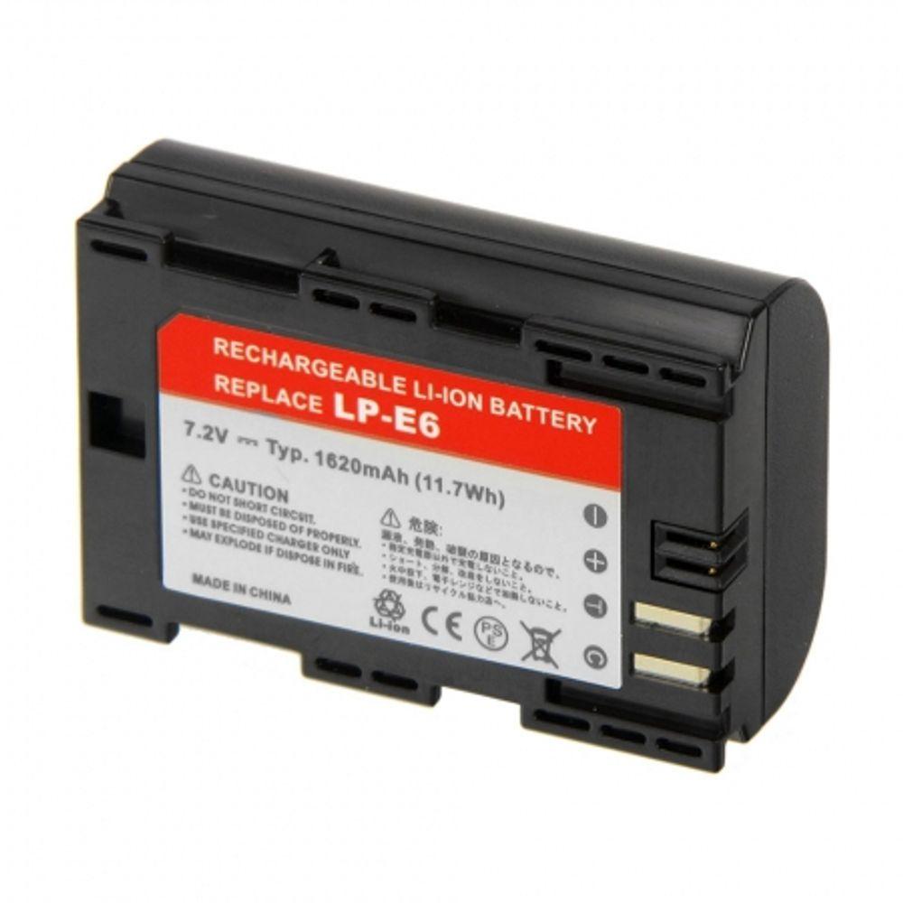 power3000-pl826b-855-acumulator-replace-tip-lp-e6-pt-canon-eos-7d-5d-mark-ii-1620mah-16598