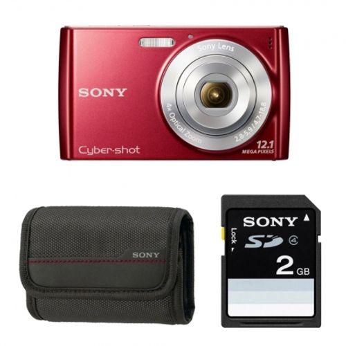 sony-cyber-shot-dsc-w510r-rosu-husa-card-sd-2gb-20854