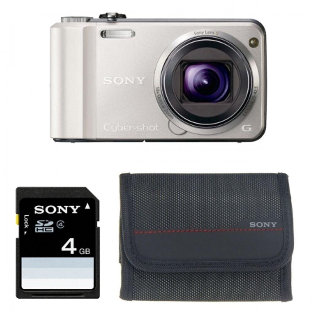 sony-cyber-shot-dsc-h70-argintiu-husa-card-4gb-21087
