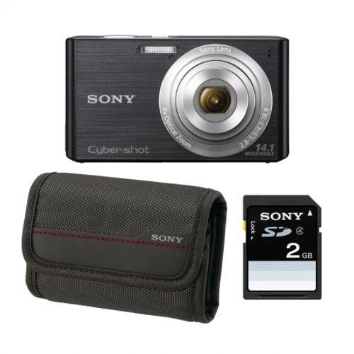 sony-dsc-w610-negru-card-sd-2gb-husa-lcs-csy-21680