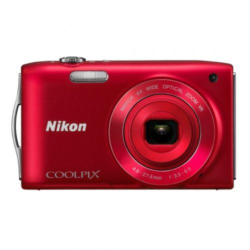 nikon-coolpix-s3300-rosu-22195
