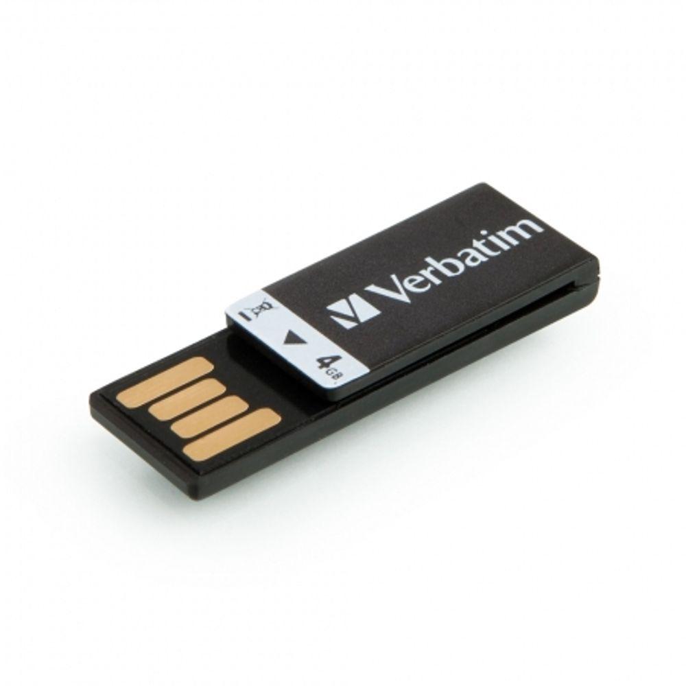 verbatim-usb-clip-it-4gb-negru-20039