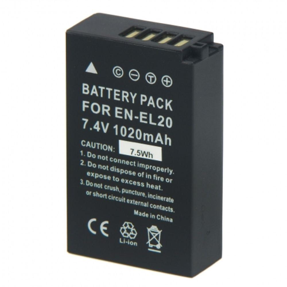 power3000-plw804b-623-acumulator-replace-tip-en-el20-pentru-nikon-j1-21330