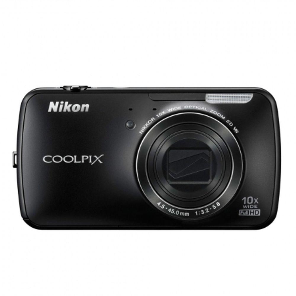 nikon-coolpix-s800c-negru-23891