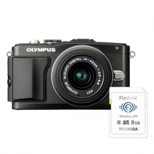 olympus-pen-e-pl5-black-ez-m1442-ii-r-black-bonus-card-wireless-8gb-flashair-23964