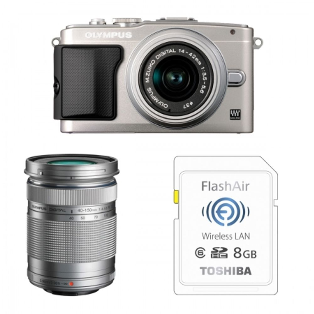 olympus-e-pl5-argintiu-ez-m1442-ii-r-silver-ez-m4015-r-bonus-card-wireless-8gb-flashair-23970