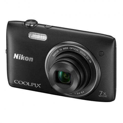 nikon-coolpix-s3500-negru-25988