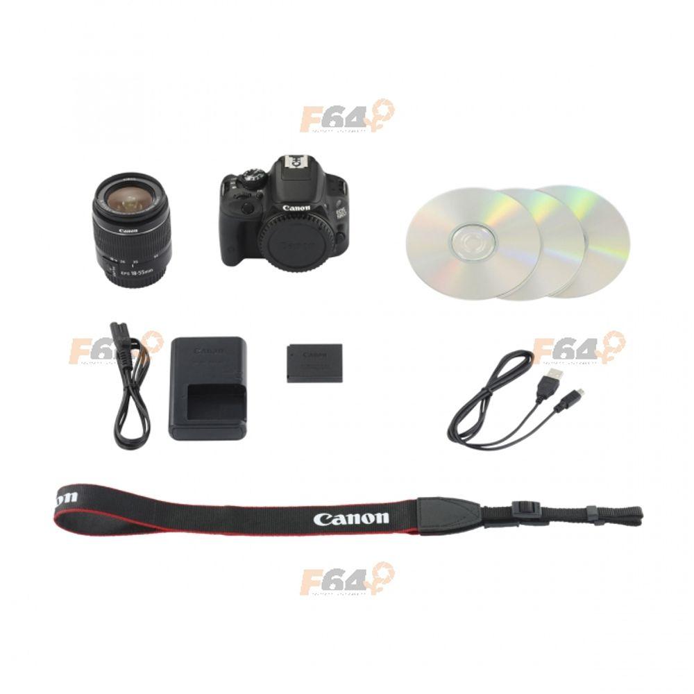 Canon EOS 100D kit EF-S 18-55mm f/3 5-5 6 IS STM - F64 Studio
