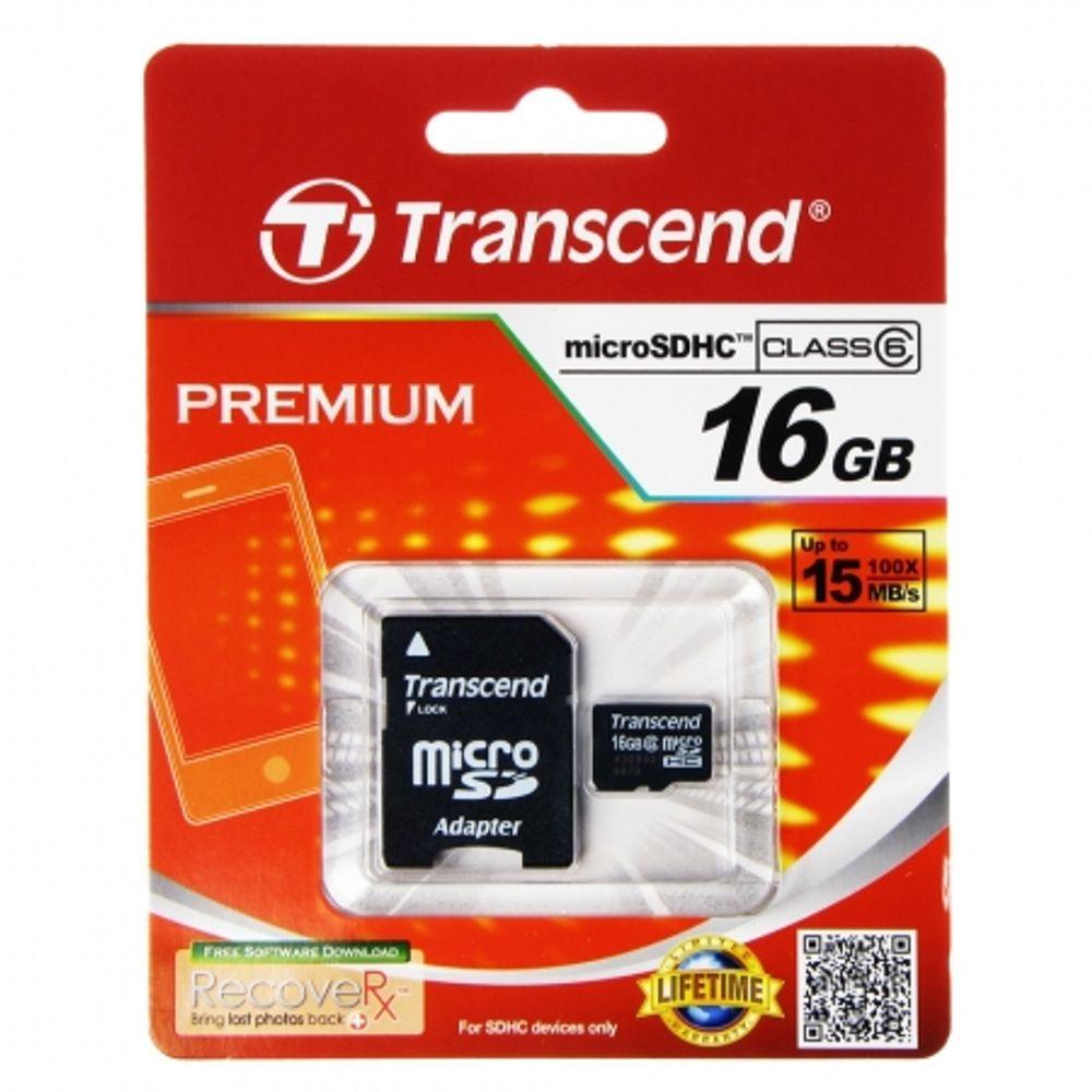 transcend-card-microsdhc-16gb-clasa-6-cu-adaptor-sd-23755