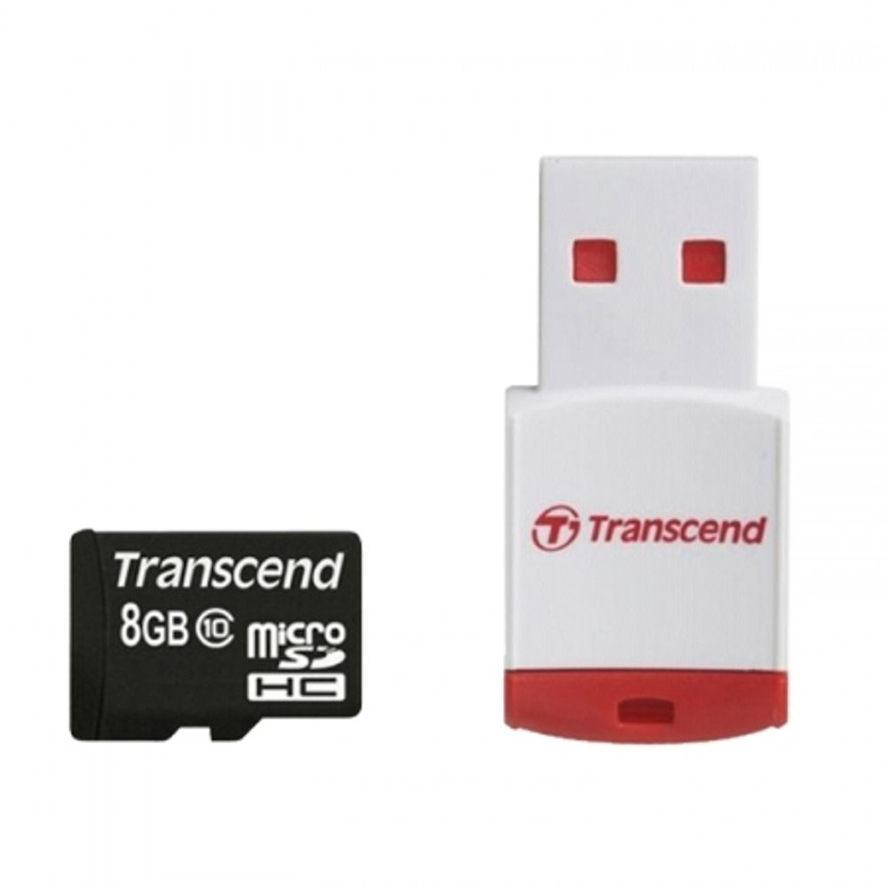 transcend-microsdhc-class-10-adapter-cardreader-rdp3-8gb-23832