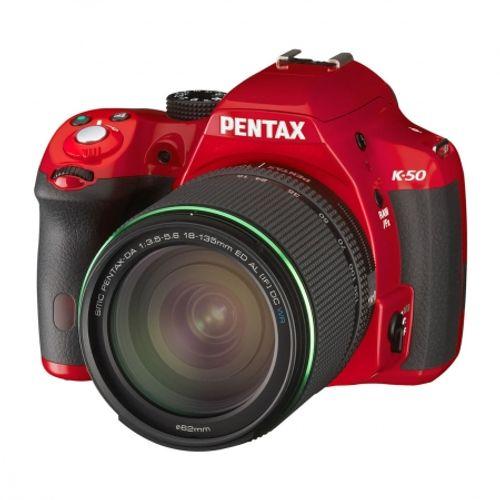 pentax-k-50-smc-da-18-135mm-f3-5-5-6-wr-rosu-28175