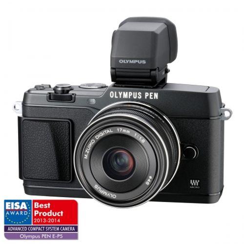 olympus-e-p5-kit-17mm--1-8-vizor-electronic-vf-4-negru-28908