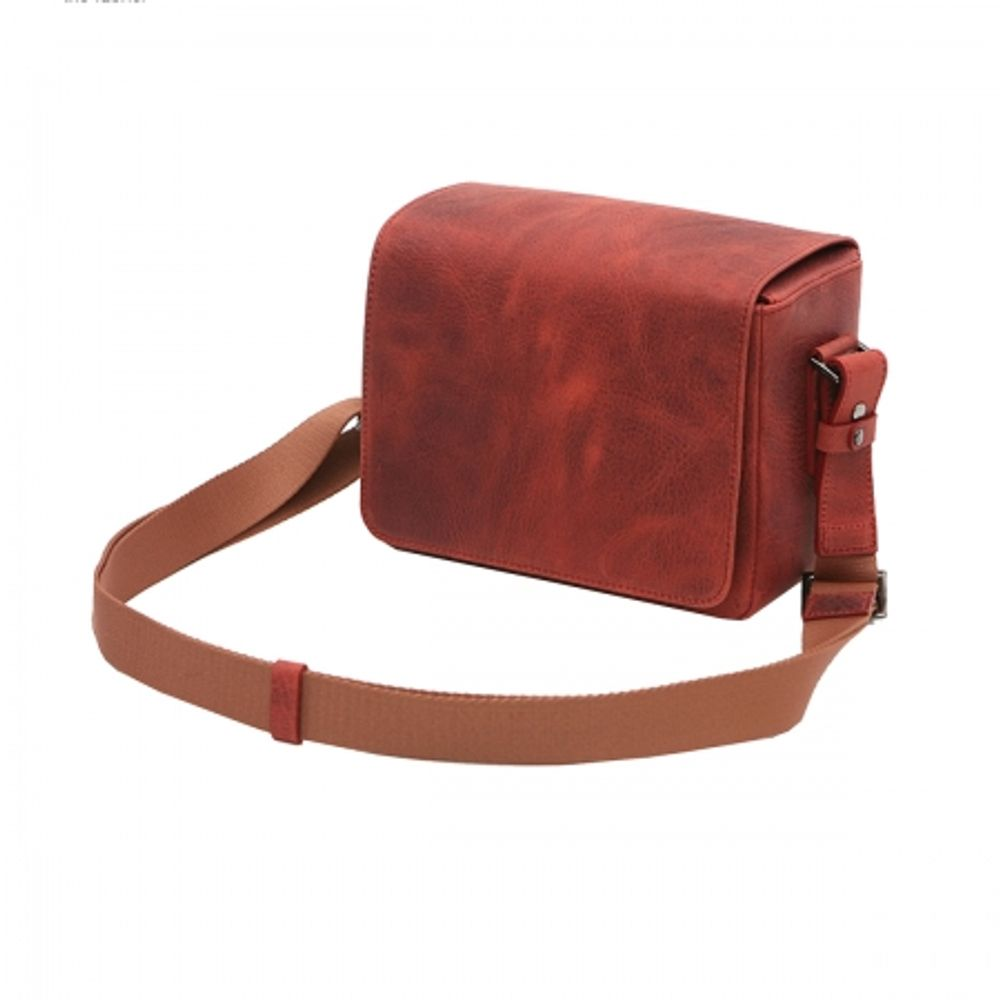 matin-m-9846-vintage-leather-bag-matte-mini-red-geanta-foto-video-25301
