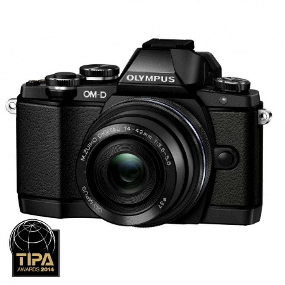 olympus-om-d-e-m10-kit-cu-14-42mm-ez-pancake-negru-31837-9