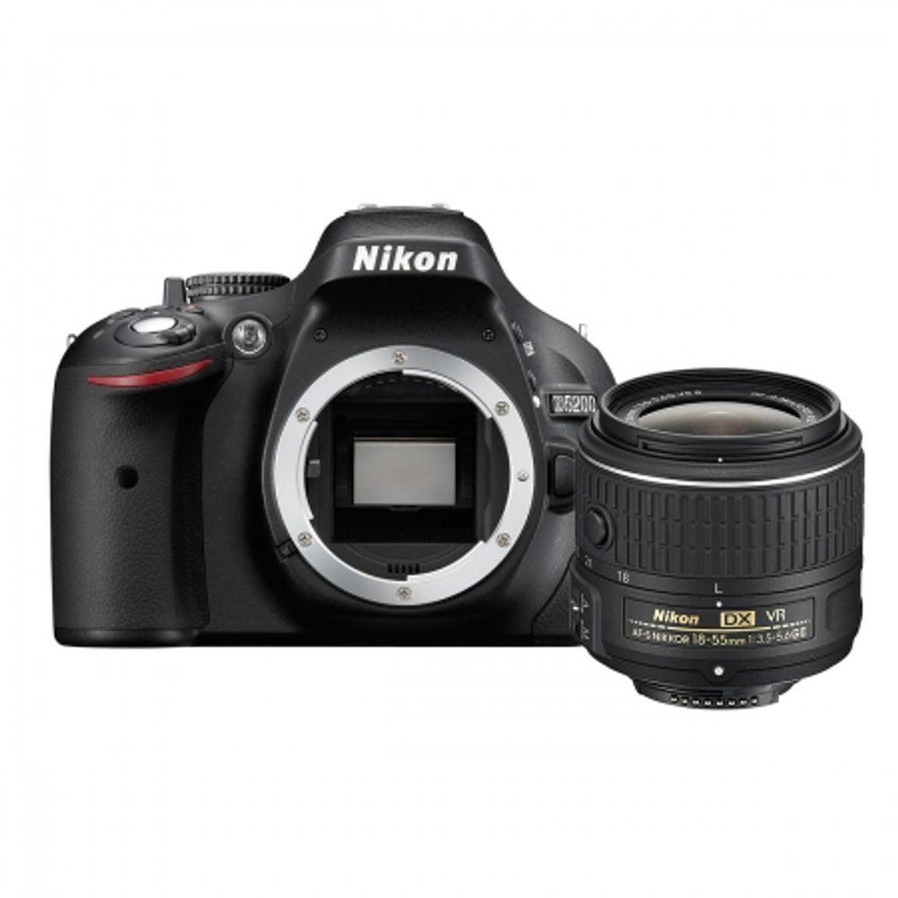 nikon-d5200-kit-18-55mm-vr-ii-af-s-dx-negru-34948