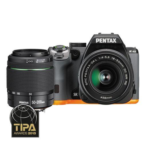pentax-k-s2-kit-18-50mm-wr-si-50-200mm-wr-negru-portocaliu-40148-90-764