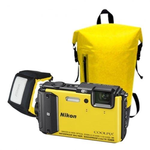 nikon-coolpix-aw130-diving-kit-galben-42811-891