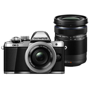 olympus-om-d-e-m10-mark-iii-mirrorless-camera-with-14-42mm-40-150mm-silver
