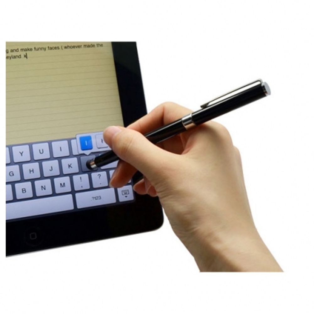 avantree-2-in-1-universal-capacitive-touch-screen-pen---ball-pen-negru-creion-capacitiv-30375