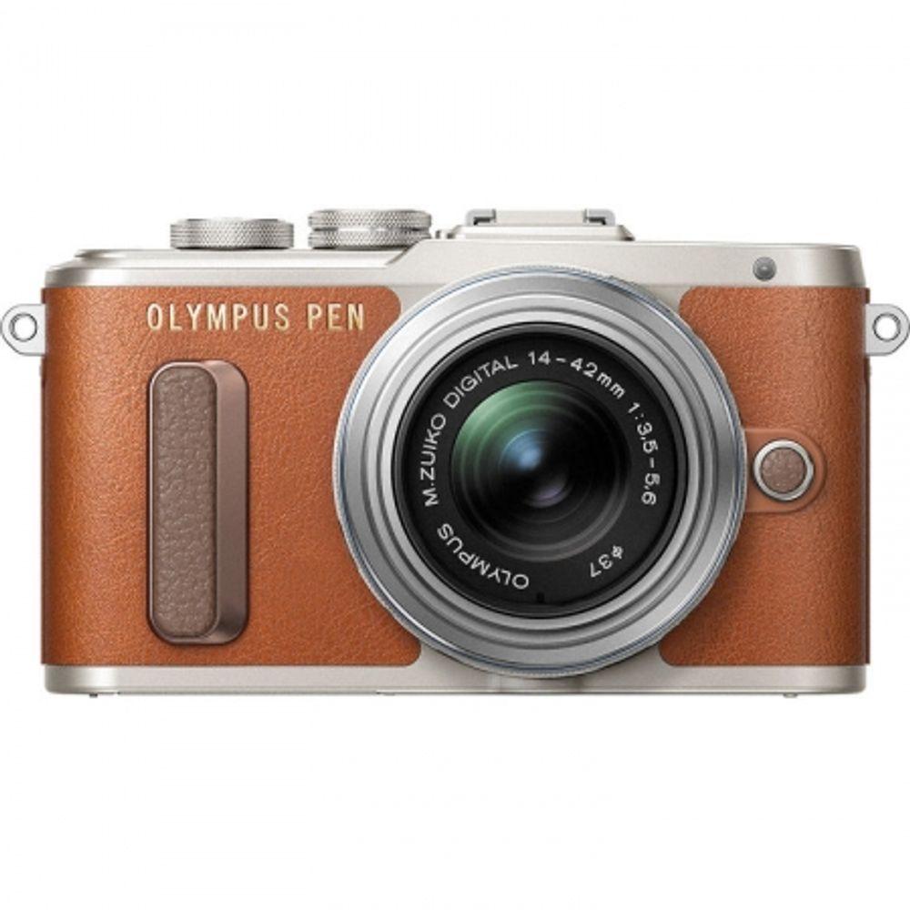 olympus-e-pl8-ez-m1442-pancake---maro-argintiu-60584-245