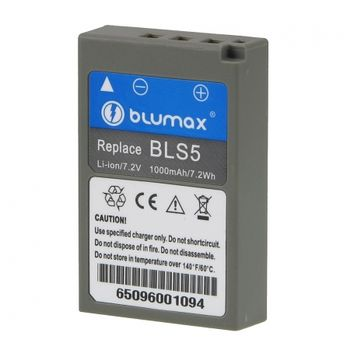 blumax-bls-5-acumulator-replace-tip-olympus-bls-5--1000mah-32589